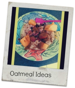 oatmeal ideas ee