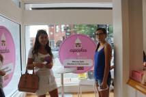 Savannah and I At Georgetown Cupcakes